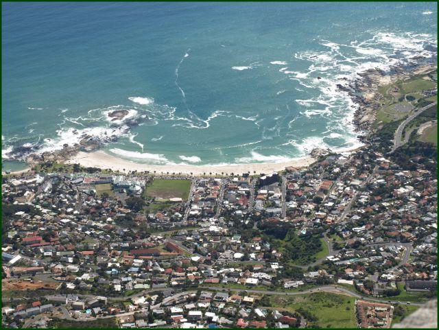 Zdjęcia: z góry stołowej, Kapsztad, przedmieścia, RPA