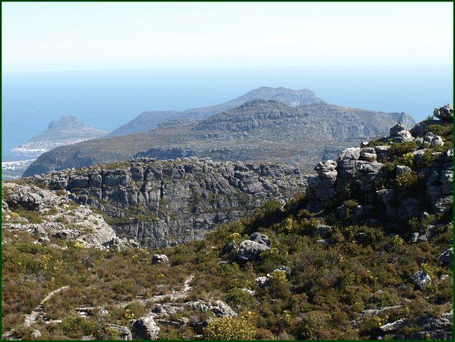 Zdjęcia: z góry stołowej, Kapsztad, ale skaliście, RPA