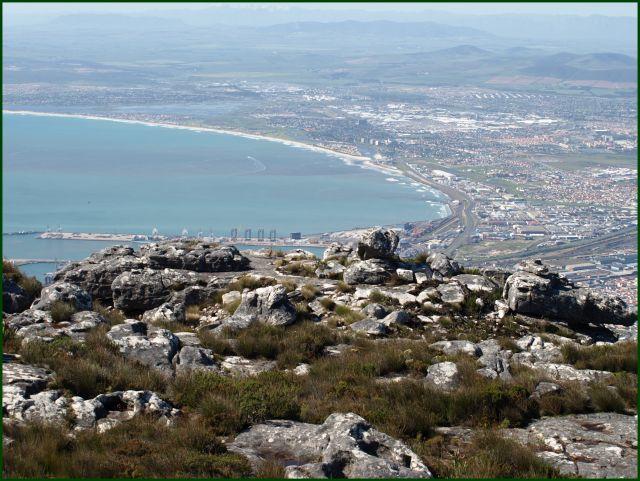Zdjęcia: z góry stołowej, Kapsztad, kawałek miasta, RPA