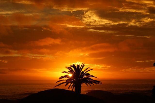 Zdjęcia: Kapsztad, Przylądek Dobrej Nadzieji, Zachód słońca na przylądku, RPA