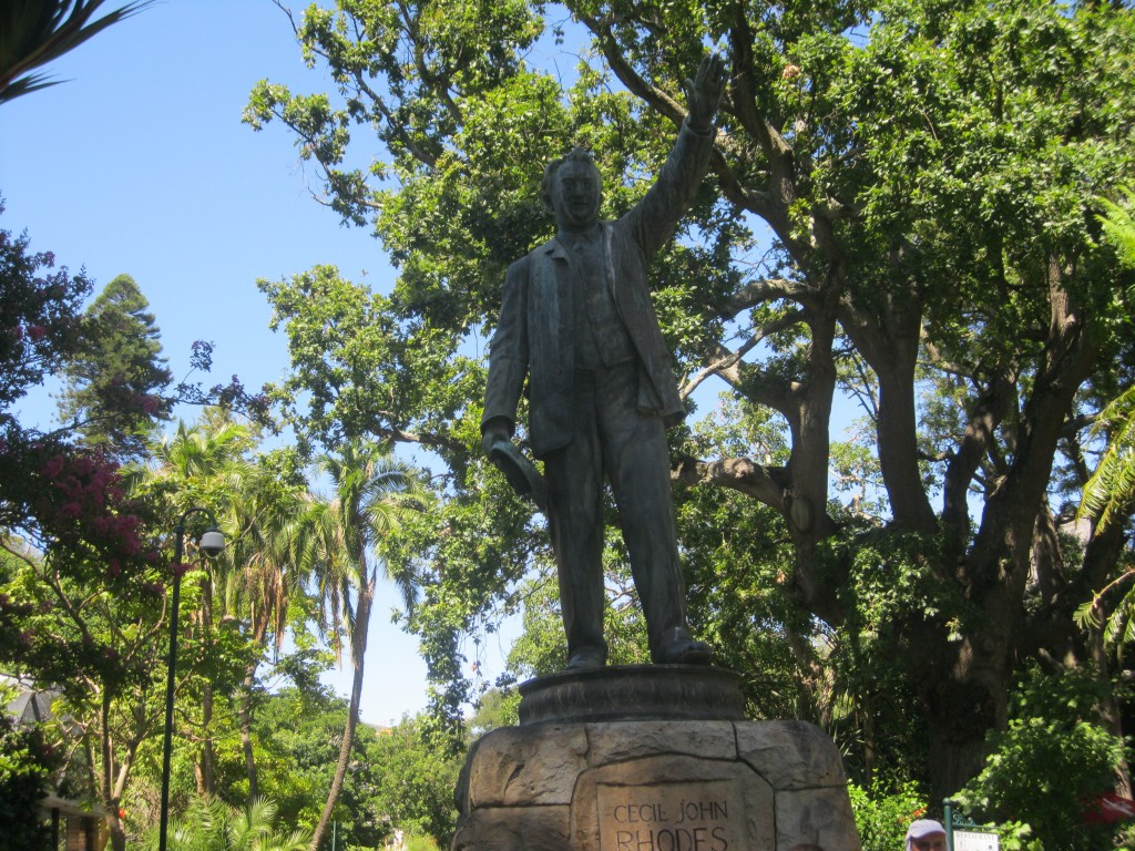 Zdjęcia: Kapsztad, Kapsztad, Pomnik Cecila Rhodesa, RPA