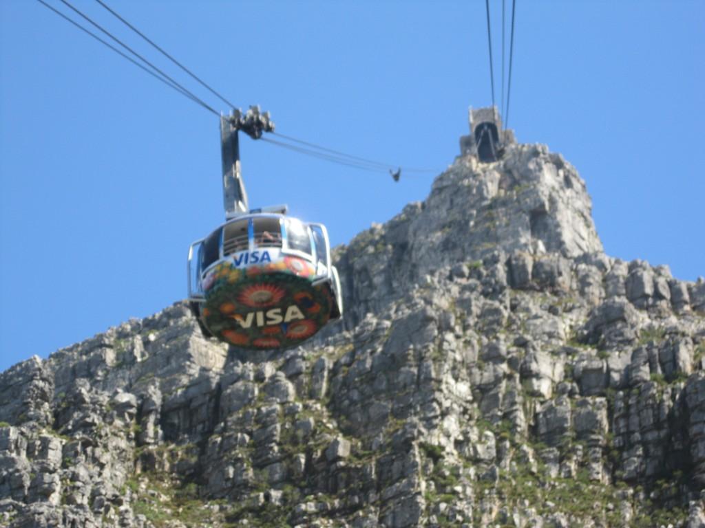 Zdjęcia: Kapsztad, Kapsztad, Kolejka linowa na Górę Stołową, RPA