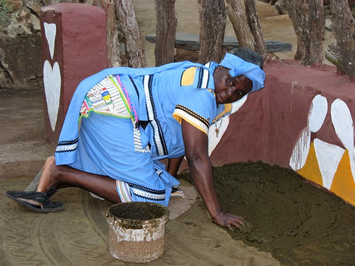"""Zdjęcia: Lesedi, okolice Johanseburga, Afrykański świat kobietami """"stoi""""..., RPA"""