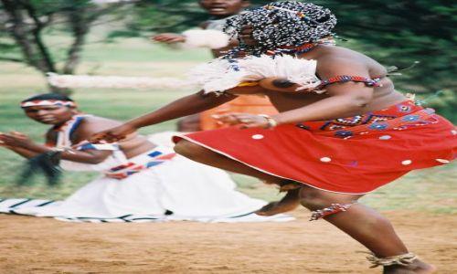 RPA / - / wioska Duma Zulu, Heia Safari Ranch / Pokaz tradycyjnych tańców plemiennych.