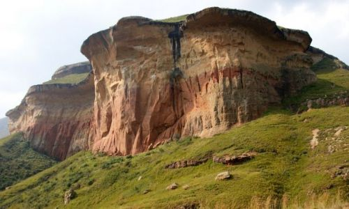 Zdjecie RPA / Park Narodowy / Golden Gate / Kolorowe Formacje Skalne