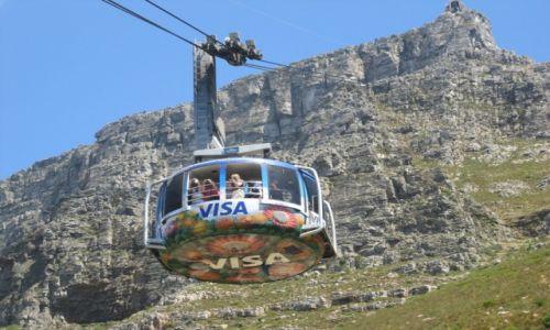 Zdjęcie RPA / Kapsztad  (Cape Town) / Kapsztad  (Cape Town) / Kolejka linowa na Górę Stołową