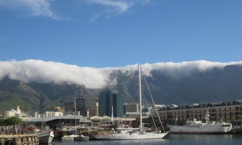 Zdjęcie RPA / Kapsztad  RPA / Kapsztad  RPA / Góra Stołowa  okryta mgłą