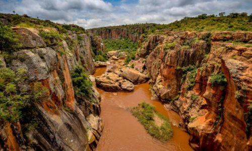RPA / Mpumalanga / Kanion rzeki Blyde / Pomarańczka