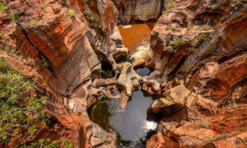 RPA / Mpumalanga / Burke's Luck potholes  / Wsołe Kociołki