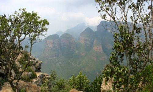Zdjęcie RPA / - / Blyde River Canyon / Z wędrówek po górach: Tree Rondavales