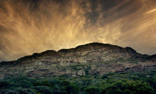 Zdjęcie RPA / Przylądek Dobrej Nadziei / Przylądek Dobrej Nadziei / Zachód słońca nad Przylądkiem Dobrej Nadziei