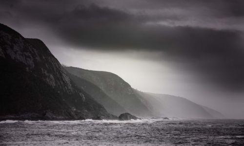 Zdjęcie RPA / Park Narodowy Tsitsikamma / Storms River / Późnym popołudniem na wybrzeżu