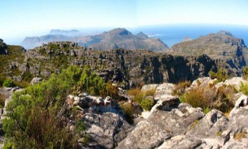 Zdjęcie RPA / Kapsztad / Góra Stołowa / Na szczycie Góry Stołowej