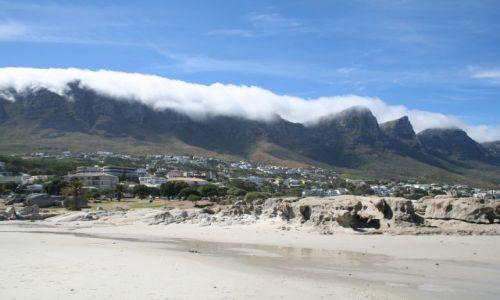 Zdjecie RPA / brak / Cape Town / ko�dra z chmur