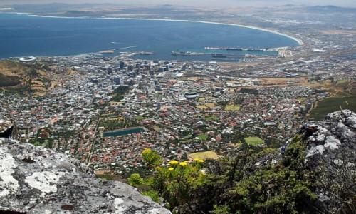 Zdjecie RPA / - / Kapsztad / Kapsztad widok z Góry Stołowej