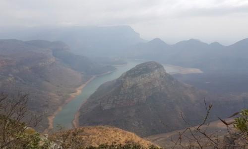 Zdjecie RPA / Prowincja Mpumalanga/  Pół - wsch. RPA  / Kanion Rzeki Blyde  / To nie w  USA...