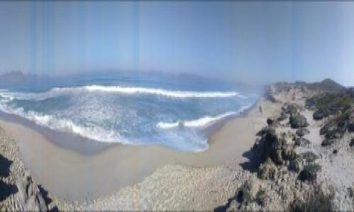 Zdjecie RPA / AFRYKA / Przylądek Igielny / spotkanie oceanów - panorama