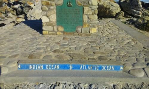 Zdjecie RPA / - / Przylądek Igielny / granica oceanów