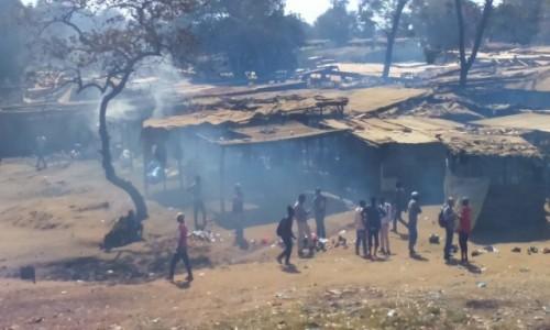 Zdjecie RPA / - / Johannesburg / slumsy Jo-burga