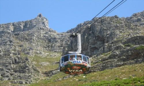 Zdjęcie RPA / Kapsztad / Góra Stołowa / Kolejka na Górę Stołową