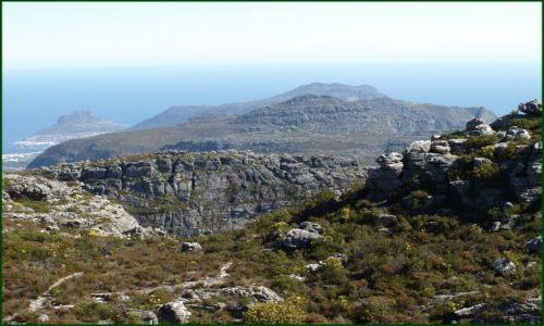 Zdjęcie RPA / Kapsztad / z góry stołowej / ale skaliście
