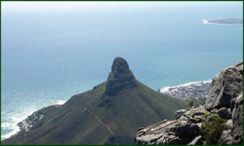 Zdjęcie RPA / Kapsztad / z góry stołowej / Lion's Head