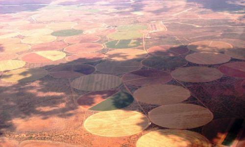 Zdjecie RPA / Gariep Dam (gliding centre) / w niebie / pola życia
