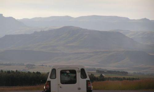 RPA / brak / gdzieś w pobliżu gór Drakensberg / w drodze do Drakensbergu