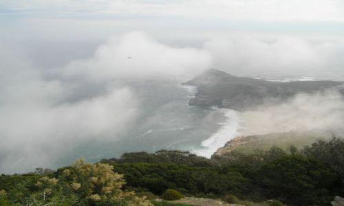 Zdjecie RPA / brak / Cape of Good Hope / widok z Cape Point na Przylądek Dobrej Nadziei