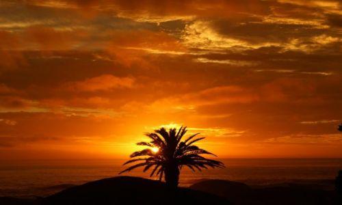 Zdjecie RPA / Przylądek Dobrej Nadzieji / Kapsztad / Zachód słońca na przylądku