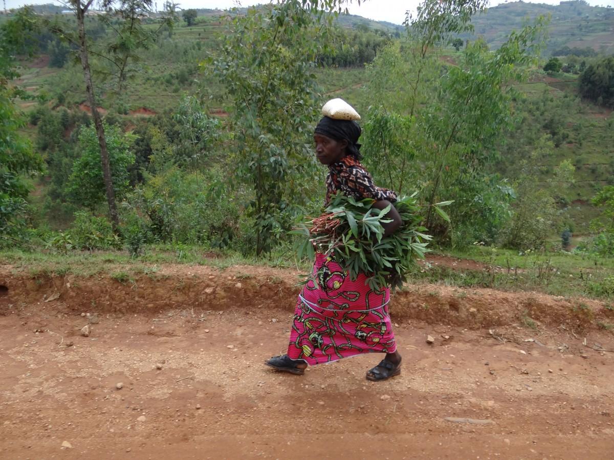 Zdjęcia: j.w., Droga do Kibeho , Jak brakuje rąk..., RUANDA
