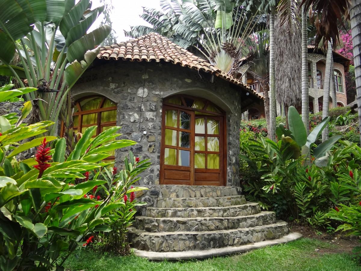 Zdjęcia: Kompleks hotelowy, Przy jeziorze Kivu, A tak z bliska ..., RUANDA