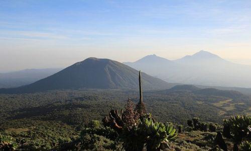 RUANDA / Volcanos National Park / Rwanda / Wulkany
