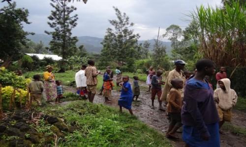 Zdjęcie RUANDA / Północ / Nyakinama / Rwandyjska wieś