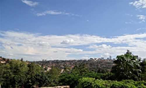 Zdjecie RUANDA / j,w, / Stolica  / Widok na Kigali