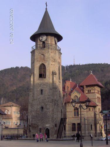 Zdj�cia: Piatra Neamt, Mo�dawia, PIATRA NEAMT- Dzwonnica, RUMUNIA
