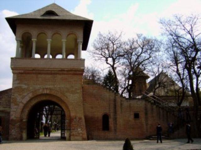 Zdjęcia: Mogosoaia, Ilfov, Mogosoaia - brama wjazdowa, RUMUNIA