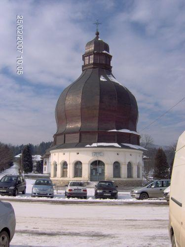Zdjęcia: Manastirea Neamt , Mołdawia, Dziwadło z gigantyczną kopułą , RUMUNIA