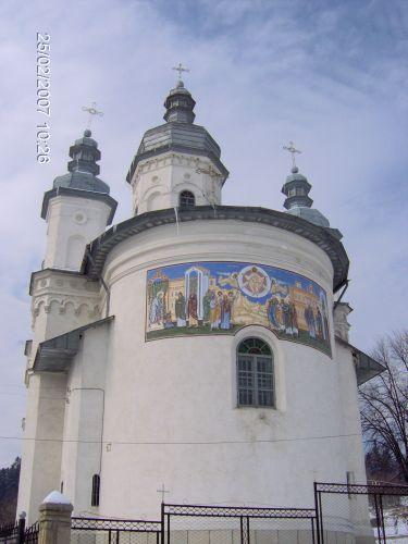 Zdjęcia: OKOLICE Manastirea Neamt , Mołdawia, CERKIEW VOVIDENIA z bliska, RUMUNIA