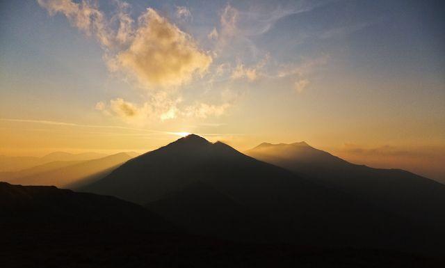 Zdjęcia: Alpy Rodniańskie, Karpaty Wschodnie, Ostatnie światła dnia, RUMUNIA