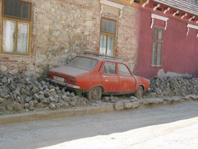 Zdj�cia: Alba Iulia, Siedmiogr�d, Samoch�d , RUMUNIA