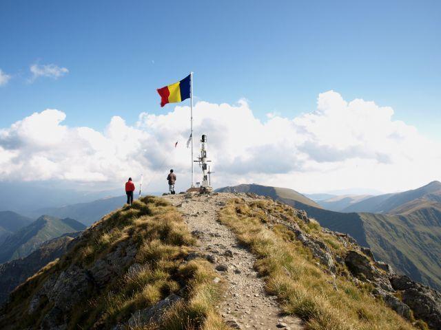 Zdjęcia: Moldoveanu 2544m npm, Muntii  Fagarasului, Dach Rumunii, RUMUNIA