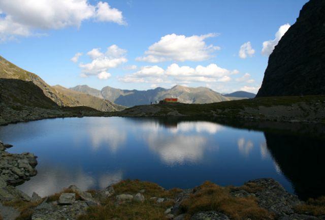 Zdjęcia: Góry Fogarskie, Refuge Caltun, RUMUNIA