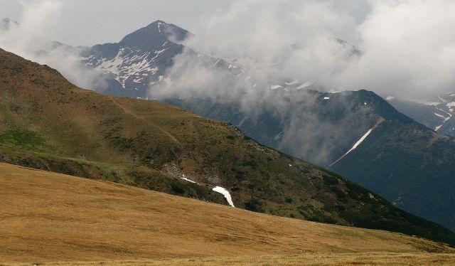 Zdjęcia: góry, Karpaty, Mgiełki..., RUMUNIA