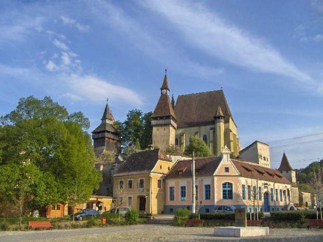 Zdjęcia: Biertan, Transylwania , Kościół forteca, RUMUNIA
