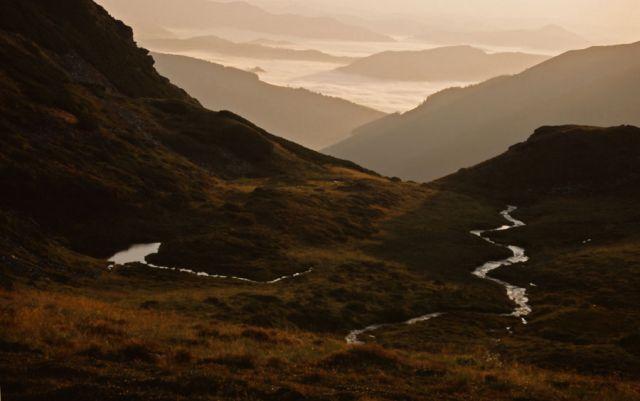 Zdjęcia: rezerwat Bila-Lala, Góry Rodniańskie, Góry Rodniańskie z rezerwatu Bila-Lala, RUMUNIA