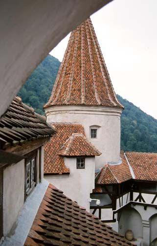 Zdjęcia: Bran, Siedmiogród, na zamku Bran, RUMUNIA