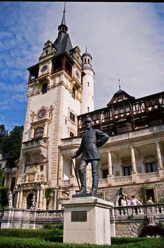 Zdjęcia: Sinaia, Siedmiogród, Pałac Pelesz, RUMUNIA