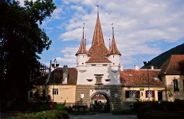 Zdjęcia: Brasov, Siedmiogród, Architektura Brasova, RUMUNIA