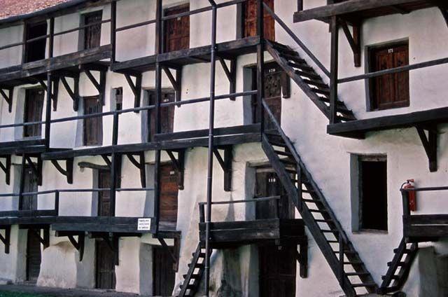 Zdj�cia: Prejmer, Siedmiogr�d, Ch�opski zamek w miasteczku Prejmer, RUMUNIA